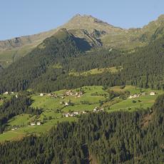 Bergwiesen am Gampen bei Ulfas