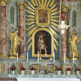 Wallfahrtskirche in der Mörre