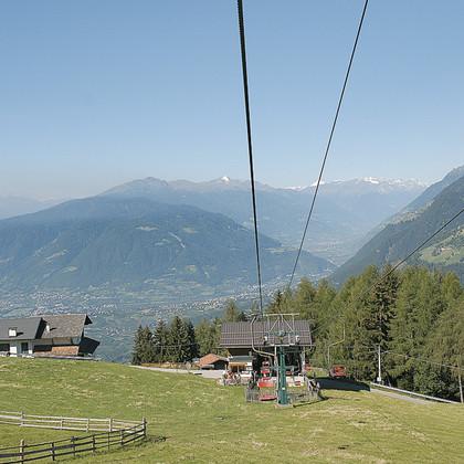 Bergstation Seilbahn Verdins