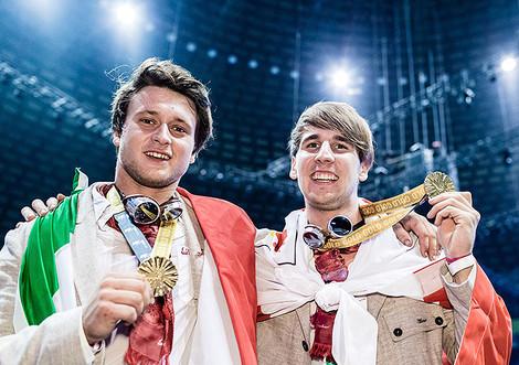 David Gögele und Matthias Hofer