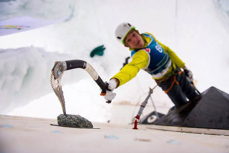 Eisturm, Rabenstein, Ice Climbing World Cup 2016