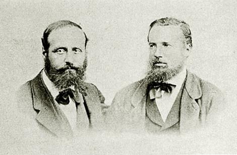 Alexander Klotz und Johann Haller
