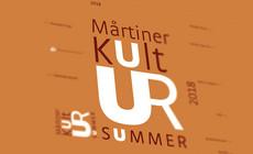 Mårtiner Kultursummer, 2018