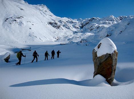 Skitour Timmelsalm